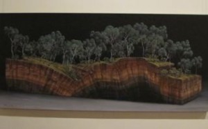 Artist Dale Cox...a discovery in the Ballarat Regional Art Gallery